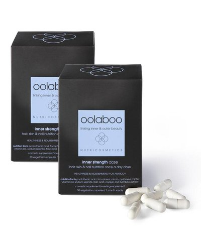 Oolaboo Inner Strength Hair, Skin & Nail Nutrition Once A Day Dose Duo 60st