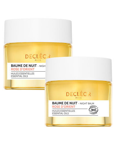 Decléor Rose d'Orient Night Balm Royal Duo