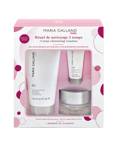 Maria Galland Set 3-Step Cleansing Routine 2-60-68