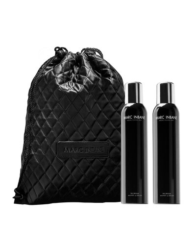 Marc Inbane Natural Tanning Spray Duo  + Rope Bag