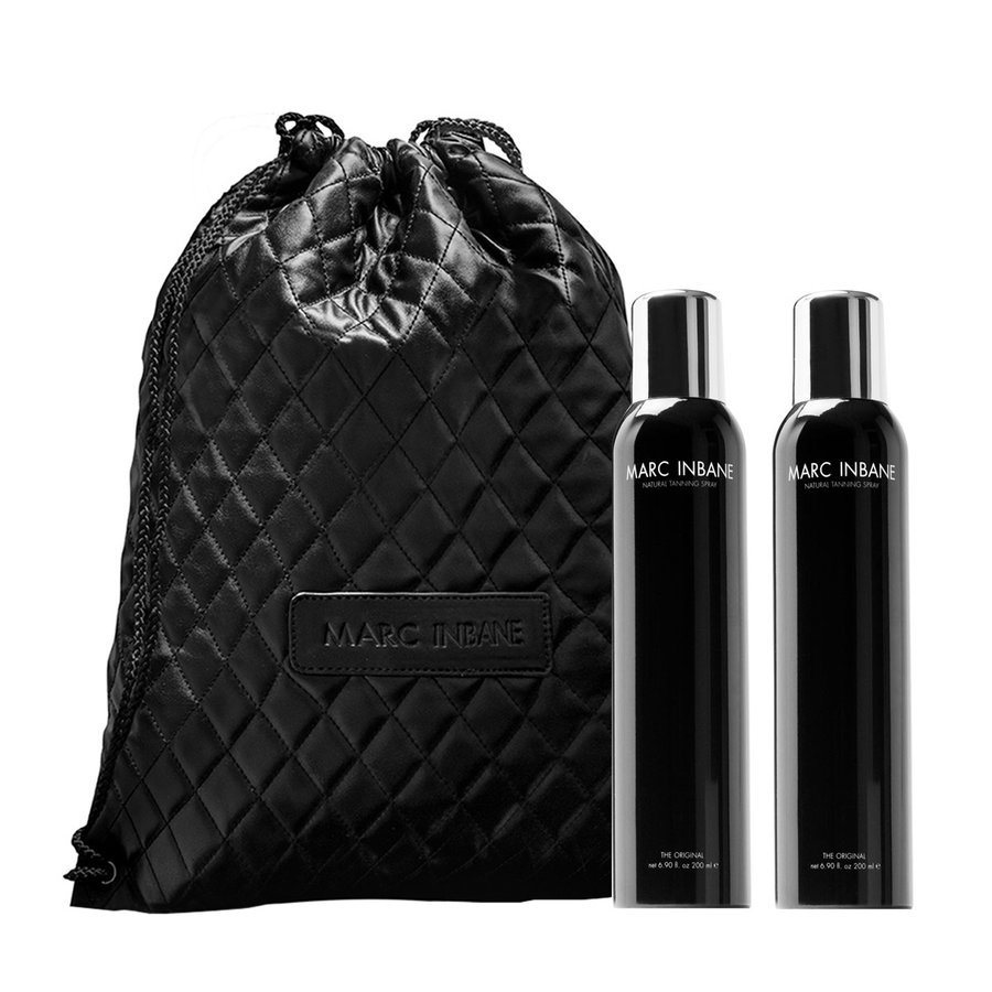 Natural Tanning Spray Duo + Rope Bag