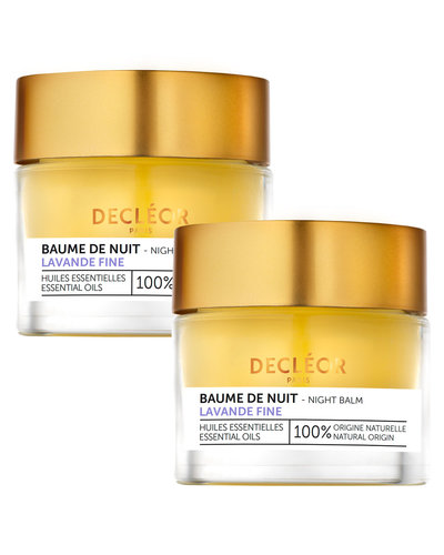 Decléor Lavander Fine Night Balm Duo