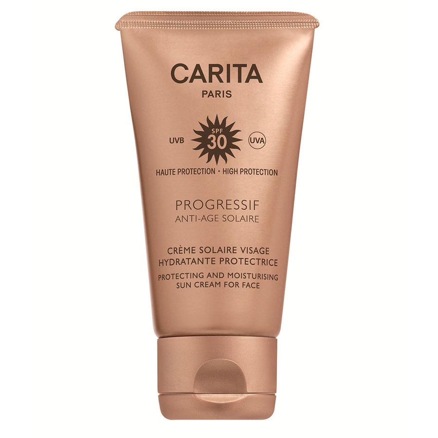 Progressif Anti-Age Solaire Crème Solaire Visage Hydratante Protectrice SPF30 50ml