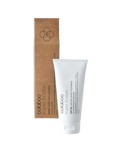 Oolaboo Super Foodies NWT|00: Natural White Toothpaste 20ml