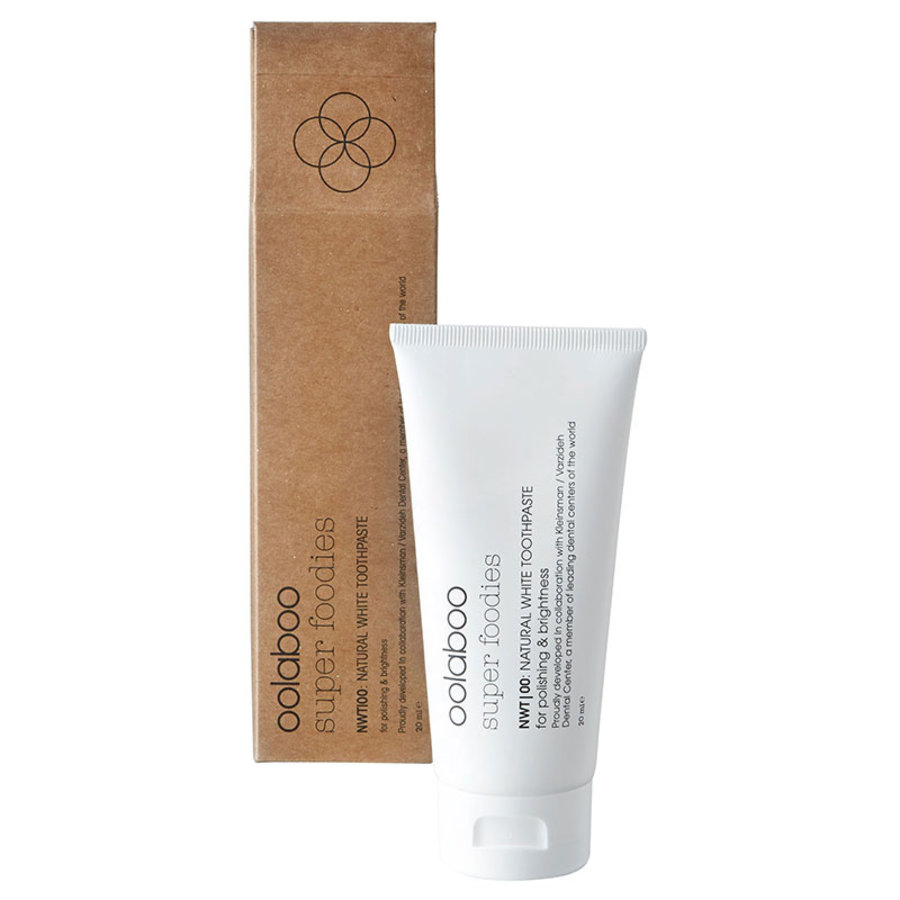 Super Foodies NWT|00: Natural White Toothpaste 20ml