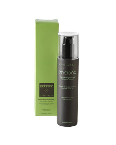 Oolaboo Therapeutic Green Tea Stop Dandruff Hair Bath 250ml