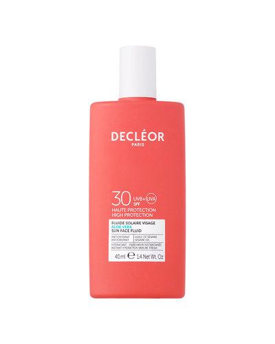 Decléor Aloe Vera Fluide Solaire Visage SPF30 40ml