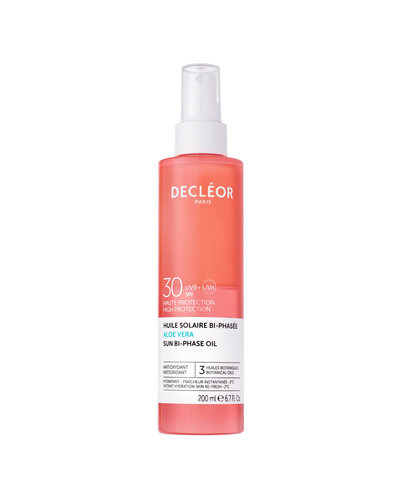 Decléor Aloe Vera Sun  Bi-Phase Oil SPF30 200ml