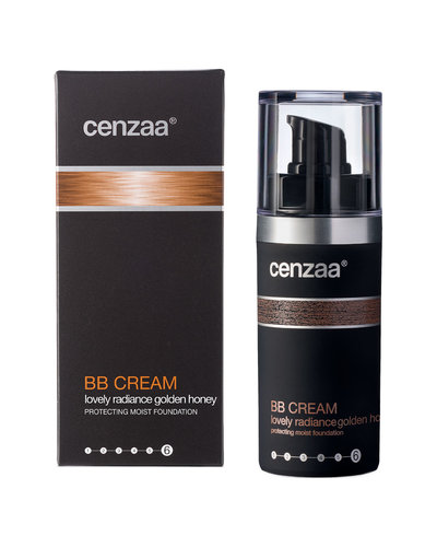 Cenzaa BB Cream Lovely Radiance  30 ml Golden-Honey