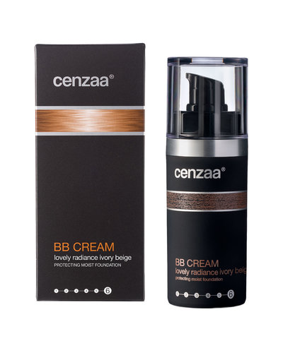 Cenzaa BB Cream Lovely Radiance  30 ml Ivory-Beige