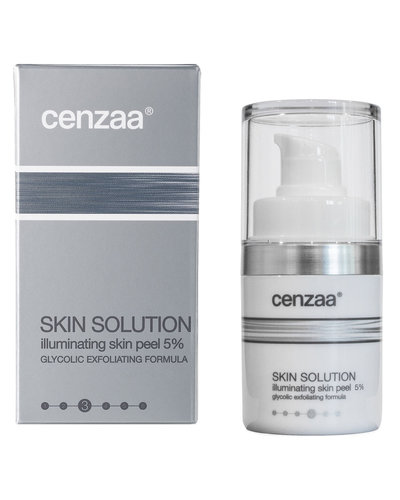 Cenzaa Skin Solution Illuminating Skin Peel 5% 15ml