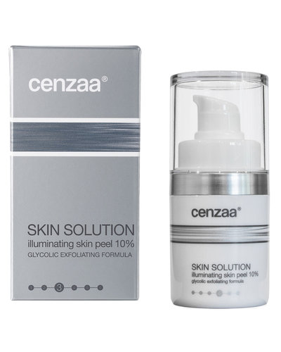 Cenzaa Skin Solution Illuminating Skin Peel 10% 15ml