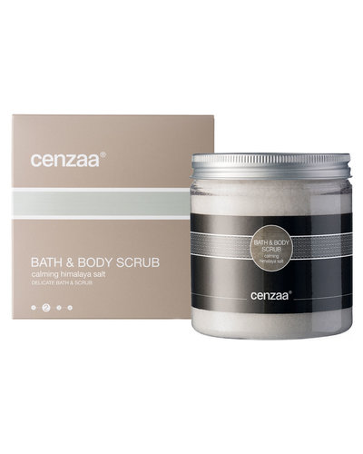 Cenzaa Bath & Body Scrub Calming Himalaya Salt 350gr