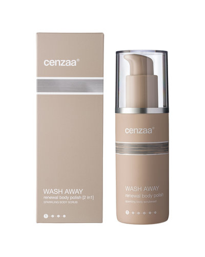 Cenzaa Wash Away Renewal Body Polish (2-in-1) 150ml