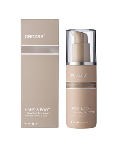 Cenzaa Hand & Foot Mellow Bamboo Cream 140ml