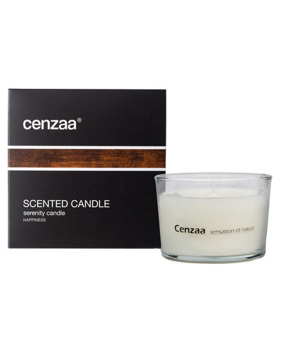 Cenzaa Scented Candle Serenity Candle Happiness 160ml