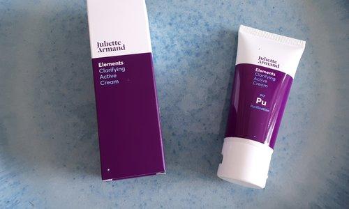 Review Juliette Armand  Clarifying Active Cream