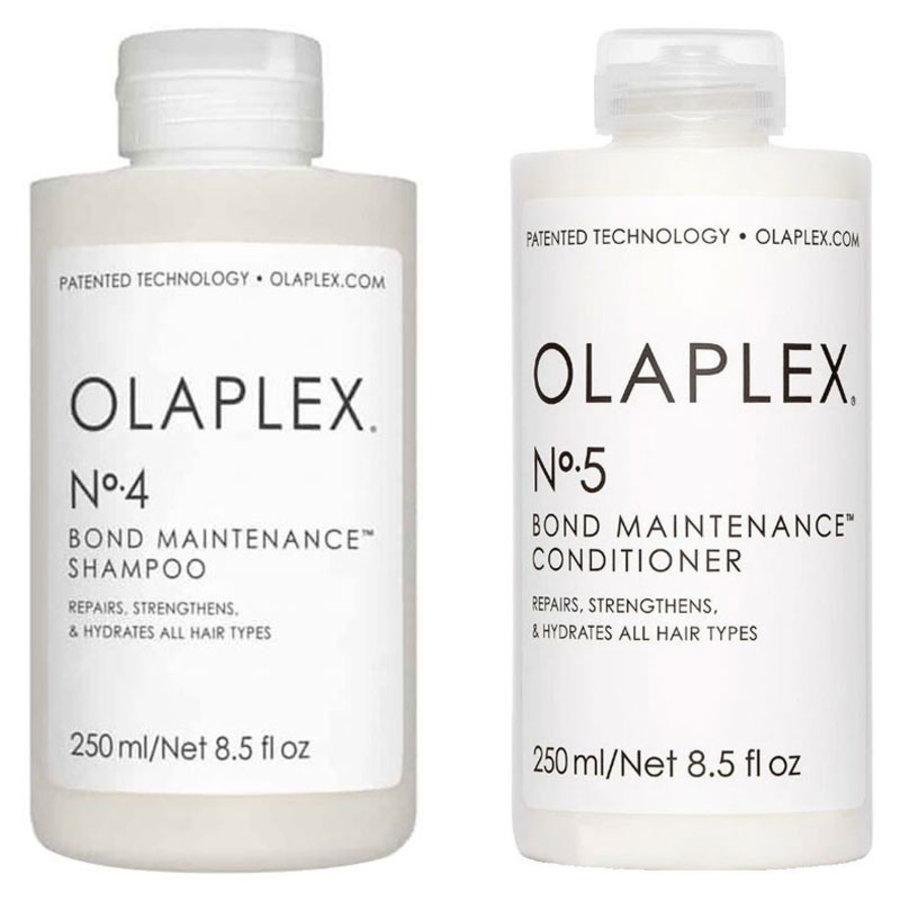 Bond Hair Maintenance Duo No.4 & No.5 2x250ml