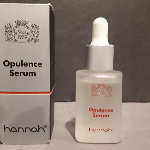 Review hannah Opulence Serum