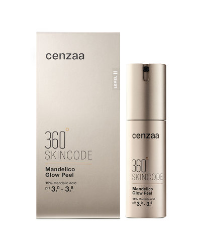 Cenzaa 360° Skincode Mandelico Glow Peel 30ml