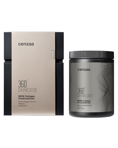Cenzaa 360° Skincode Skin Collagen Foodceuticals 450gr