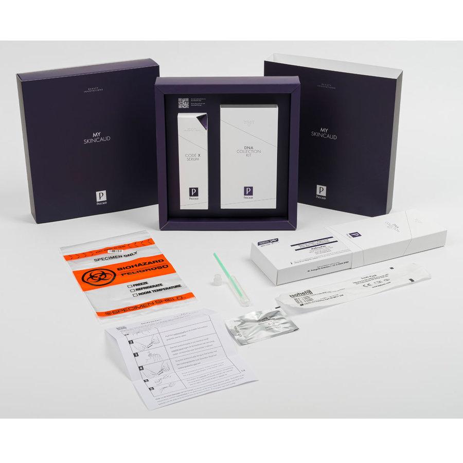 My Skincaud DNA Collection Kit & Code X Serum 30ml