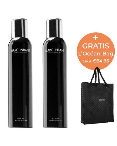 Marc Inbane Natural Tanning Spray Duo & L'Océan Bag