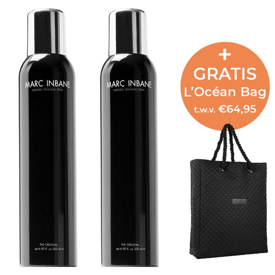 Natural Tanning Spray Duo & L'Océan Bag