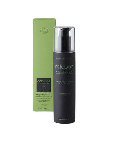 Oolaboo Therapeutic Green Tea Purifying Anti-Sebum Hair Bath 250ml