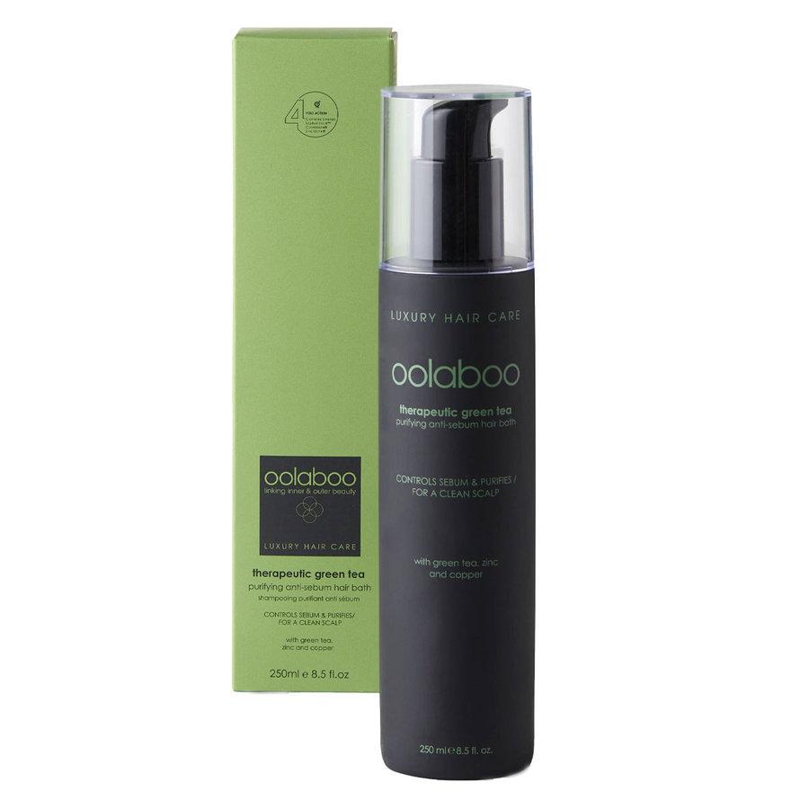 Therapeutic Green Tea Purifying Anti-Sebum Hair Bath 250ml
