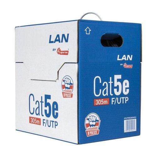 Cat5e F/UTP Massief  305m 100% koper CPR Eca (netwerkkabel op rol)