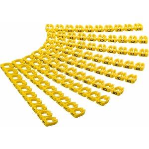 Kabelmarkering A-C voor diameter van 4 tot 6mm 90 stuks