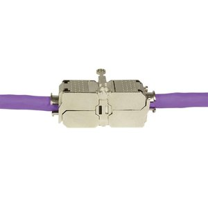 Cat6a Toolless Extender/Junction Box Shielded