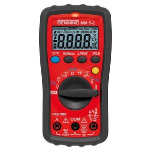 BENNING MM 5-2 Digitale Multimeter TRUE RMS