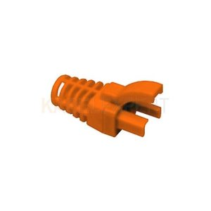 Grommet / Strain relief for RJ45 6.3mm Orange