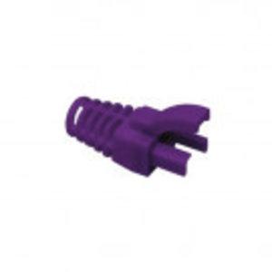 Grommet / Strain relief for RJ45 6.3mm Purple