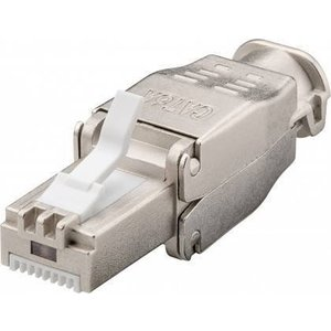 CAT6 Toolless Connector RJ45 - STP voor soepele en stugge kabel