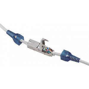CAT6a in-line coupler slim