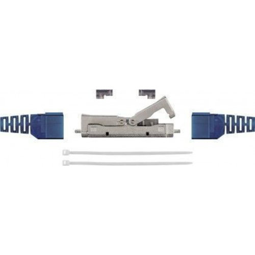 CAT6a toolless in-line coupler slim