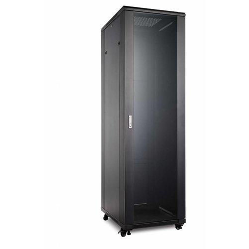 Bintra 42U Server Rack Cabinet Glass Door (WxDxH) 800x800x2055mm