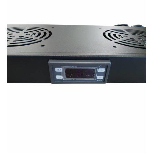 Bintra 1U Digital temperature unit with cooling fans