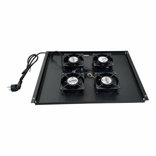 Bintra Ventilator set met 4 ventilatoren voor 800mm diepe serverkasten