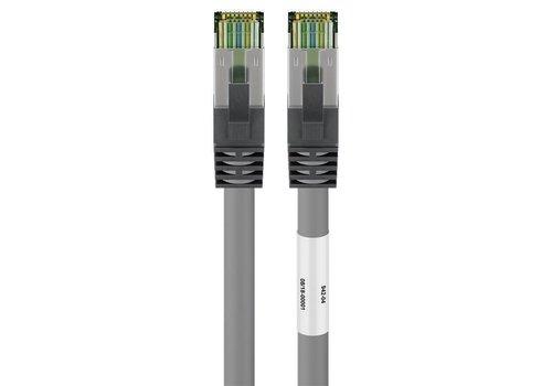 CAT8.1 S/FTP PIMF LSZH 0.25M Grey