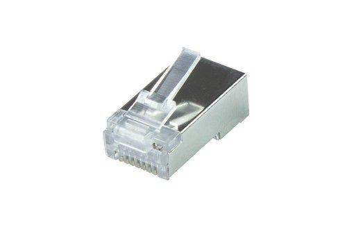 CAT6a modular plug RJ45 - STP 50 pieces