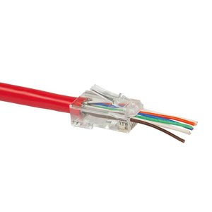 Easy CAT6 plug RJ45 - UTP 50 pieces