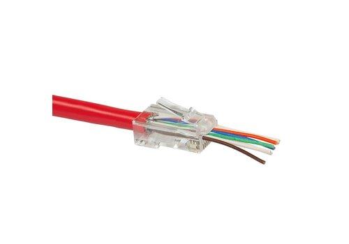 Gemakkelijke CAT6 connector RJ45 - UTP 50 stuks