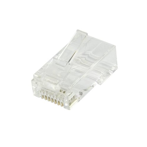 CAT6a Connector RJ45 - UTP 10 pieces for flexible and rigid cable