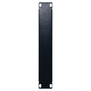 1U 10 '' metal cover panel