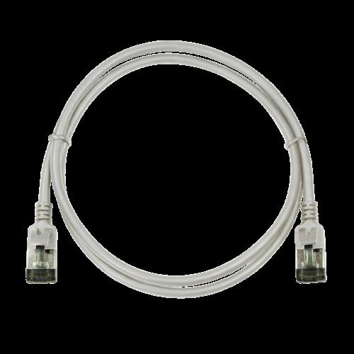 CAT6a U/FTP Ultraflex, 100% koper, grijs, 0.3M