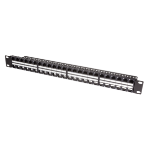 Keystone patch panel 48 ports RAL9005